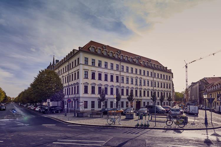 Königstraße in Dresden