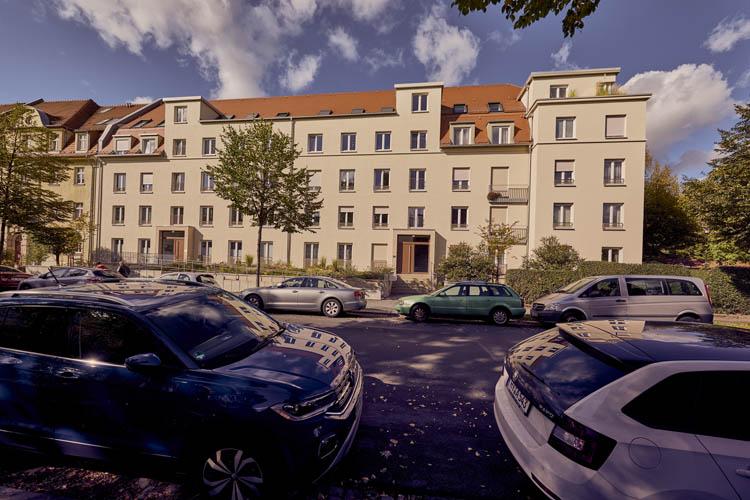 Lauensteiner Straße in Dresden